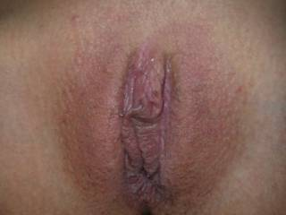 Nice smooth pussy looks tight!!
