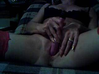 the wife masturbating