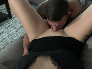 Me eating my wife's beautiful pussy