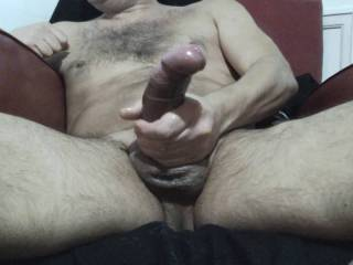 My big cock cum fountain