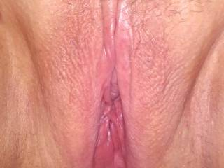 Her pussy getting ready for her big vibe and our party!