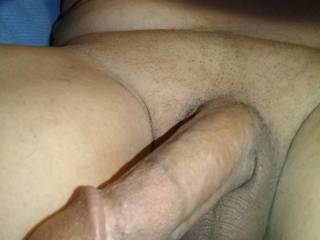 Is anyone available to work the cum out of the cock hanging out while I take a toke