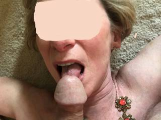 She enjoyed getting a taste of her sweet juices and I always enjoy her adventurous tongue licking me. Part 4 of 5.