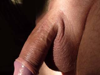 I'd enjoy using it too.  That's a beautiful picture of your oiled up cock.  I'd love to ride it, suck it and let you cum in my mouth.  It looks so delicious.  MILF K