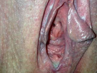 "Now I would like to eat that and make you cum in my face then when you are nice and wet I would slide my hard cock into you and fuck that pussy deep and hard ""BAREBACK""..."