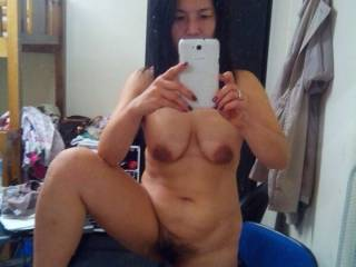 wish I could suck and lick your supper hot pussy and your nice hot tits