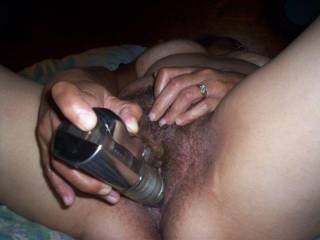 just perrrfect!!! good that you know how to service your tasty looking pussy babe mmm