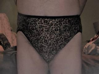 My first VF panties ! These nylon Illumination print panties are silkie & sexy & feel GOOD!