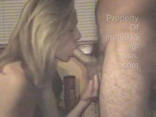 Watch as my NAUGHTY wife sucks the JUICES out of my cock 3 times.... After the 1st 2 she thinks i\'m done... But watch the 3rd cumshot... I TELL HER WHEN I\'M DONE not the other way around...Any of you ZOIGERS have the same kinda BLOWJOB if so show it or VO