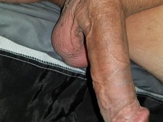 Big hanging dick