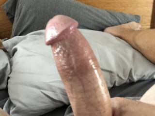 As requested, my oiled cock. What do you like?