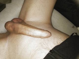 Just a quick pic of my cock