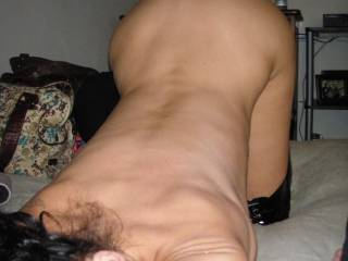 Face down and ass up - that's how I like to be taken ;-)