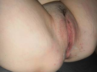 I'd love to lick your sweet pussy until you cum hard all over my eager tongue. Then I'll slide my throbbing hard cock into you and fuck you real good until I blow a huge load deep inside!