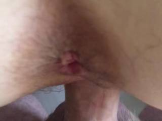 Wife fucks my cock as I try to record her pushing back onto me. It would be amazing to have someone under her and in her pussy while I fuck her ass. What do you think?
