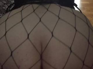 Mabel\'s is being used as a bar for shots, struggling to hold still with Merv stretching her pussy and pushing against the butt plug.  We down the shots! Do you think the fishnet body stocking and tight corset show off Mabel\'s fine round arse