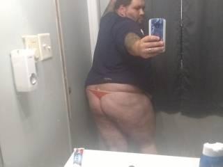 My fat ass in sexy panties