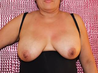 My DD tits for your enjoyment!
