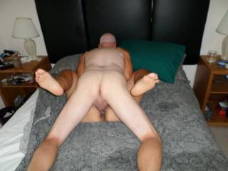 I got sloppy seconds, love burying my cock in a freshly fucked pussy