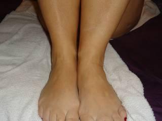 wifes hot MILF feet