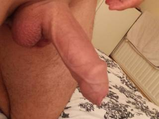 Cum is what I'd love to make that cock do.  Mmmm, a delicious cock.  MILF K