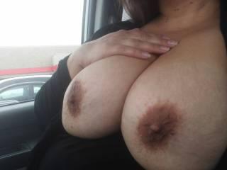 Mmmmm, would love to slide my throbbing cock between those beauties….