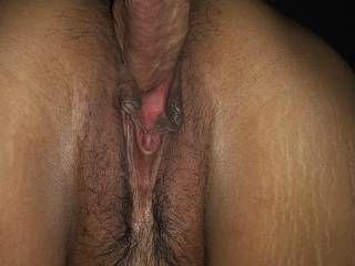She enjoys his big cock in her wet tight pussy
