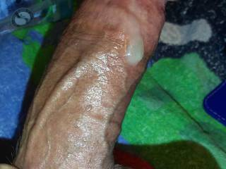 Precum from milking the prostate