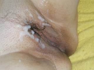 I would Like that big load of cum in my pussy!