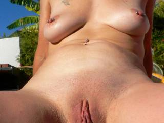 Your pussy looks so wonderful and tasty....I would luv to suck,lick and nibble on your pussy til you cum and then fill it with a load of my hot cum