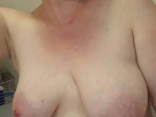 Mmm would love to suck your sexy tits until they dry then lick and suck your hot pussy until u cream on my face.