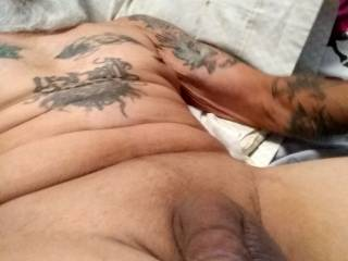 I just cleaned up my cum,, would you swallow my cock ?  I will swallow yours or eat ass n pussy mmm.