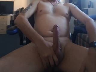 Just about to have my cock sucked