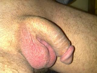 nice would love to see it shaved bald like my cock .