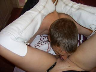 hmmm I just luv eating her sweet pussy.. who wants a taste?