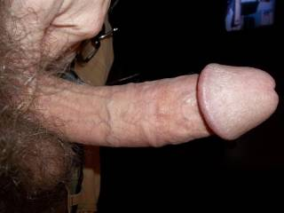 Oh yes!  Nice and thick. Love the big head. Put it in my pussy and fuck me hard!