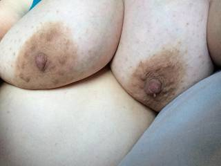 Love to suck on your beautiful tits mmm
