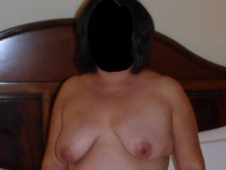 Hubby wanted to take some nude pics of me before he pounded my pussy with his cock! He got his pics and...you know what I got! Hehehe!!!