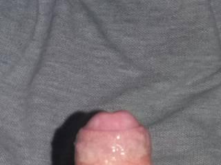 Someone wanna taste some precum and help me getting finally hard? ;* ;P