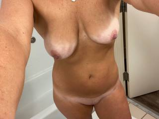 Just out of the shower and ready to get dirty! Who wants some of this???