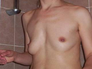 Lovely tits, great lookikng bush.