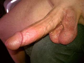3 some w/hubby?  he is trying hard to get me to have another guy join him to fuck me... i haven't yet but if I do it has to be at least as big as his cock and as thick....yours looks nice.