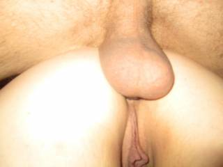 She gets fucked in the ass by this foreign cock.