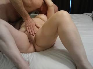 I think this kiss is going to lead to something else! Check out our accompanying video to see what happens to my married pussy.