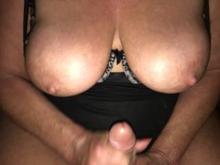 big tit stroke