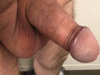So hard foreskin trapped behind glan!