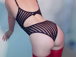 Ass shot.