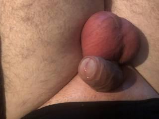 I squeezed the bad boys so hard through a small ring the juice started to cum!