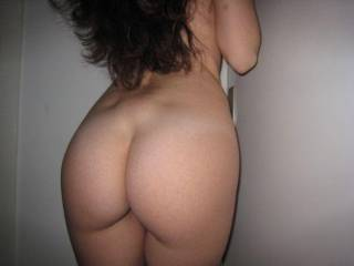 one of my friends showing her nice ass
