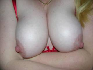 mmmh.... I love those tips.... Your big nipples are getting me hard...  I want to squeeze your tits around my cock and cum all over them...  And then use my dick to play with the cum on your nipples while I squeeze at the same time...